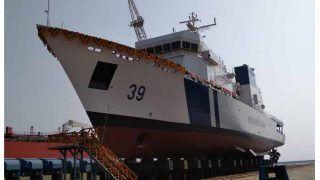 India Coast Guard  के निगरानी पोत 'विग्रह' का जलावतरण हुआ, मजूबत हुई समुद्री सीमाओं की सुरक्षा