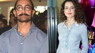 Kangana Ranaut Attacks Aamir Khan For His Old 'Intolerance' Controversy After Being Booked in Sedition Case