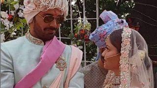 रूबीना दिलैक और अभिनव शुक्ला की शादी का वीडियो हुआ वायरल, शरमाती बीवी का थामा हाथ, मांगा 7 जन्मों का साथ