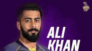 IPL 2020: KKR Pacer Ali Khan Ruled Out of The Season Due to Injury