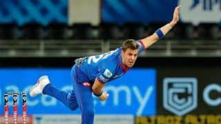 IPL 2020: Anrich Nortje Breaks Dale Steyn's Record For The Fastest Delivery in League History