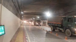 In a First, Indian Army Convoy Drives Through Newly-built Atal Tunnel | WATCH
