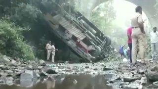 Five Dead, 34 Injured as Speeding Bus Falls Into Gorge in Maharashtra's Nandurbar