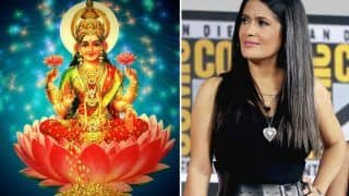 Salma Hayek Reveals She Focuses on Goddess Lakshmi When in Need to Connect with Inner Beauty