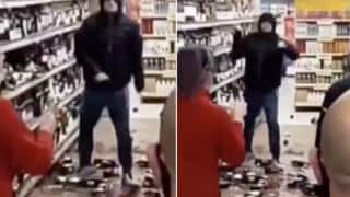 Covidiot Number 1? Ireland Man Smashes Wine & Whiskey Bottles After Being Told to Wear a Mask