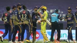 IPL 2020, KKR vs CSK: Tripathi, Bowlers Deliver 10-Run Win For Knight Riders