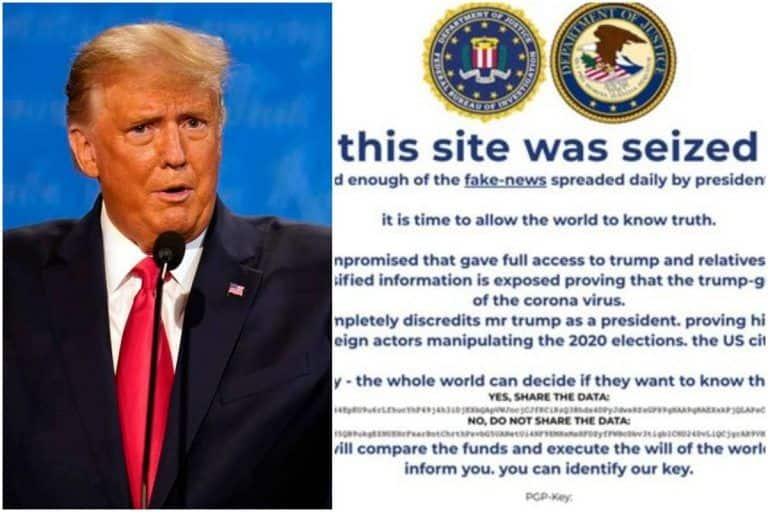 Trump Campaign Website Defaced, Hackers Say 'World Has Had Enough of Fake News'