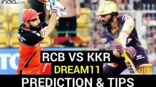 RCB vs KKR Dream11 Team Prediction Dream11 IPL 2020: Captain, Vice-captain, Fantasy Playing Tips, Probable XIs For Today's Royal Challengers Bangalore vs Kolkata Knight Riders T20 Match 28 at Sharjah Cricket Stadium 7.30 PM IST Monday, October 12