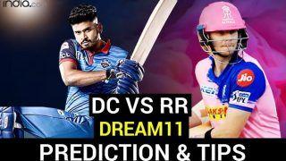 DC vs RR Dream11 Team Prediction IPL 2020: आईपीएल के 30वें मैच में दिल्ली और राजस्थान में होगी टक्कर, ये हो सकती है ड्रीम11
