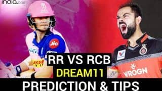 RR vs RCB Dream11 Team Hints And Predictions IPL 2020: Captain, Vice-Captain And Probable XIs For Today's Rajasthan Royals vs Royal Challengers Bangalore Match 33 at Dubai International Cricket Stadium 3.30 PM IST Saturday, October 17