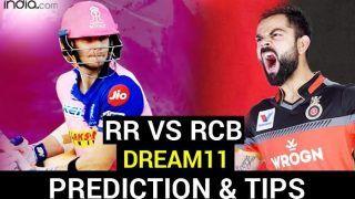 RR vs RCB Dream11 Team Prediction IPL 2020: राजस्थान-बैंगलोर में टक्कर आज, जानें कप्तान कोहली की क्या हो सकती है ड्रीम11
