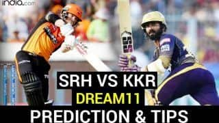 SRH vs KKR Dream11 Team Prediction And Hints IPL 2020: Captain, Vice-captain, Fantasy Playing Tips, Probable XIs For Today's Sunrisers Hyderabad vs Kolkata Knight Riders T20 Match 35 at Sheikh Zayed Stadium, Abu Dhabi 3.30 PM IST Sunday October 18