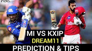 MI vs KXIP Dream11 Team Hints And Predictions IPL 2020: Captain, Vice-Captain And Probable XIs For Today's Mumbai Indians vs Kings XI Punjab Match 36 at Dubai International Cricket Stadium 7.30 PM IST Sunday, October 18
