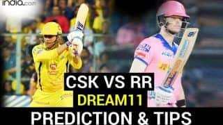 CSK vs RR Dream11 Team Prediction Dream11 IPL 2020: Captain, Vice-captain, Fantasy Playing Tips, Probable XIs For Today's Chennai Super Kings vs Rajasthan Royals T20 Match 37 at Sheikh Zayed Stadium, Abu Dhabi 7.30 PM IST Monday October 19