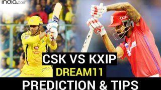 CSK vs KXIP Dream11 Team Prediction IPL 2020: Captain, Vice-Captain, Fantasy Playing Tips, Probable XIs For Today's Chennai Super Kings vs Kings XI Punjab T20 Match 53 at Sheikh Zayed Stadium, Abu Dhabi 3.30 PM IST November 1 Sunday