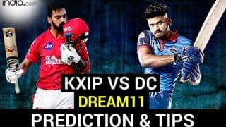 KXIP vs DC Dream11 Team Prediction Dream11 IPL 2020: Captain, Vice-captain, Fantasy Playing Tips, Probable XIs For Today's Kings XI Punjab vs Delhi Capitals T20 Match 38 at Dubai International Cricket Stadium 7.30 PM IST Tuesday October 20