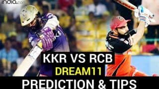 KKR vs RCB Dream11 Team Prediction Dream11 IPL 2020: Captain, Vice-captain, Fantasy Playing Tips, Probable XIs For Today's Kolkata Knight Riders vs Royal Challengers Bangalore T20 Match 39 at Sheikh Zayed Stadium, Abu Dhabi 7.30 PM IST Wednesday, October 21
