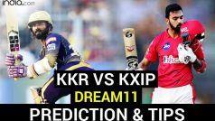 KKR vs KXIP Dream11 Team Prediction IPL 2020: कोलकाता-पंजाब में होगी रोमांचक जंग, जानें दोनों टीमों के संभावित प्लेइंग XI