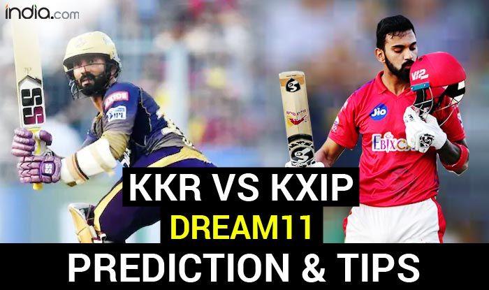 KKR vs KXIP Dream11 Team Prediction IPL 2020