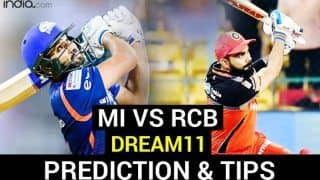 MI vs RCB Dream11 Team Prediction Dream11 IPL 2020: Captain, Vice-captain, Fantasy Playing Tips, Probable XIs For Today's Mumbai Indians vs Royal Challengers Bangalore T20 Match 48 at Sheikh Zayed Stadium, Abu Dhabi 7.30 PM IST October 28 Wednesday
