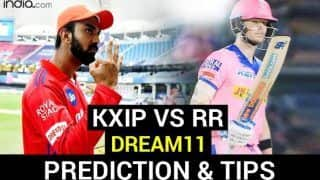 KXIP vs RR Dream11 Team Prediction Dream11 IPL 2020: Captain, Vice-captain, Fantasy Playing Tips, Probable XIs For Today's Kings XI Punjab vs Rajasthan Royals T20 Match 50 at Shiekh Zayed Stadium, Abu Dhabi 7.30 PM IST October 30 Friday