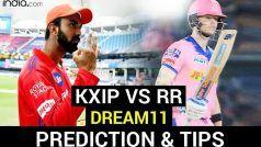 KXIP vs RR Dream11 Team Prediction IPL 2020: इन खिलाड़ियों को मौका दे सकती हैं पंजाब-कोलकाता की टीमें