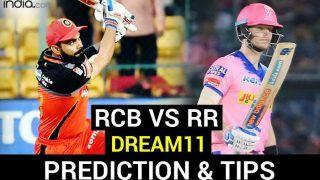 RCB vs RR Dream11 Team Prediction IPL 2020: आज से शुरू हो रहे हैं डबल हेडर मैच, जानें कोहली की RCB और स्मिथ के 'रॉयल्स' के प्लेइंग XI के बारे में