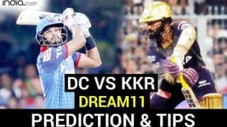 DC vs KKR Dream11 Team Prediction Dream11 IPL 2020: Captain, Vice-captain, Fantasy Playing Tips, Probable XIs For Today's Match 16 Delhi Capitals vs Kolkata Knight Riders T20 Match at Sharjah Cricket Stadium 7.30 PM IST Saturday, October 3