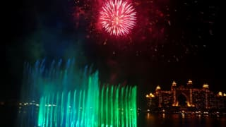 Dubai's 'Palm Fountain' Breaks Guinness World Record For Largest Fountain | WATCH