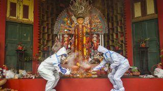 Low Visitor Turnout at Centuries-Old Durga Puja in Kolkata