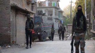 Terrorist Surrenders as Gunfight Rages on in Kashmir's Pulwama, Operation on