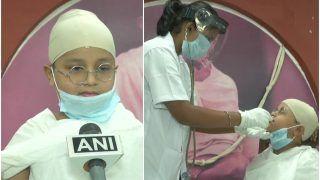 Gandhi Jayanti 2020: 10-Year-Old Gujarat Boy Goes For COVID-19 Test Dressed up as Mahatma Gandhi   See Pics