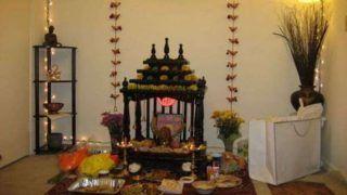 Home Temple Cleaning Tips: नवरात्रि से पहले घर के मंदिर की ऐसे करें सफाई, जानें ये आसान तरीका