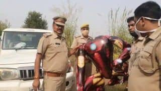 It   s a Bird, It   s an Alien, It   s Iron Man! Balloon Sparks Fears of Alien Invasion in Greater Noida