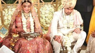 Kajal Aggarwal-Gautam Kitchlu New Wedding Pictures Out: Bride And Groom Perform Rituals in Mandap