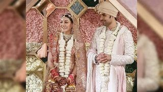 Kajal Aggarwal-Gautam Kitchlu's Wedding Pictures Leaked, Couple Looks Royal While Taking Pheras