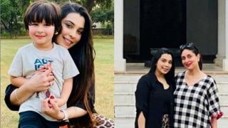 Taimur Ali Khan's Spanish Teacher Poses With Him and Kareena at Pataudi Palace, Don't Miss Bebo's Baby Bump