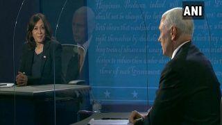 US Vice-Presidential Debate 2020: Trump Betrayed Friends, Embraced Dictators, Says Kamala Harris | Highlights