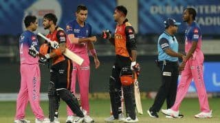 IPL 2020: Manish Pandey, Vijay Shankar Hit Unbeaten Half-Centuries as SRH Sail to Eight-Wicket Win