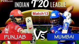 LIVE Kings XI Punjab vs Mumbai Indians Match 13 Live Cricket Score And Updates: Can Rohit-Led MI Bounce Back at Abu Dhabi