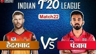 HIGHLIGHTS, SRH vs KXIP: 132 रन पर ऑलआउट हुई पंजाब, हैदराबाद ने 69 रन से जीता मैच