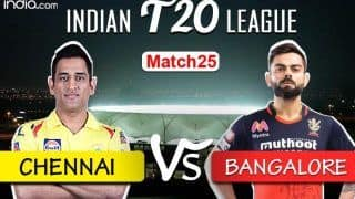 CSK vs RCB Dream11 Team Prediction And Hints For IPL 2020: Captain, Vice-captain, Fantasy Playing Tips, Probable XIs For Today's Chennai Super Kings vs Royal Challengers Bangalore T20 Match 25 at Dubai International Stadium 7.30 PM IST Saturday, October 10