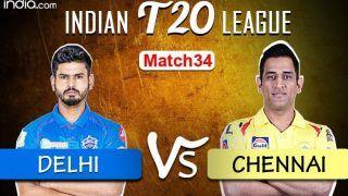 LIVE | Delhi vs Chennai, IPL 2020 Match 34. Sharjah