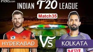 LIVE Sunrisers Hyderabad vs Kolkata Knight Riders Match 35 Live Cricket Score And Updates: Morgan-Led Kolkata Woyld Look to Bounce Back in Abu Dhabi