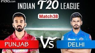 IPL 2020 Live Cricket Score KXIP vs DC, Today's Match 38 Live Updates Dubai: Can KL Rahul-Led Punjab Hold Onto The Winning Momentum?