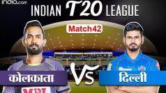 LIVE IPL Score KKR vs DC: दिल्ली के 15 ओवर में 5 विकेट पर 110 रन