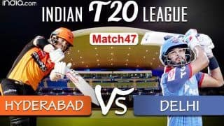 LIVE Sunrisers Hyderabad vs Delhi Capitals Match 47 Live Cricket Score And Updates, Dubai: Capitals Look to Become the First Team to Seal Playoffs Berth