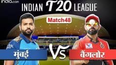 IPL LIVE SCORE 2020, MI vs RCB: विराट कोहली सस्ते में आउट, बुमराह को मिला विकेट