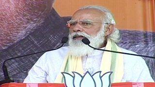 Save Bihar From 'Jungle Raj': PM Modi Slams Lalu's RJD at Darbhanga Rally