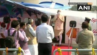 PM Flags Off Seaplane Service Between Statue of Unity & Sabarmati Riverfront, Takes Maiden Flight